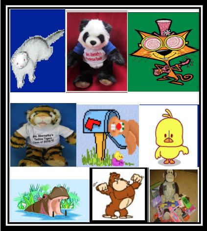 Mascots w border